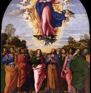 Assumption of Mary, PALMA VECCHIO 1512