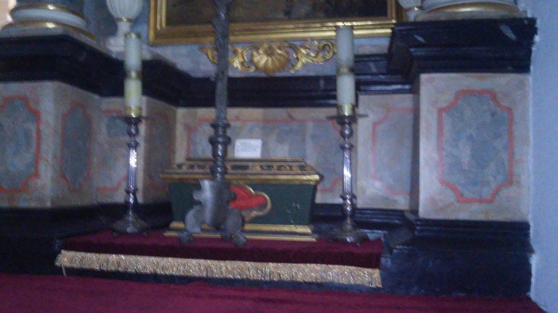 Relikwie Św.Perpetuy i Felicyty (kościół Św.Anny w Białej)